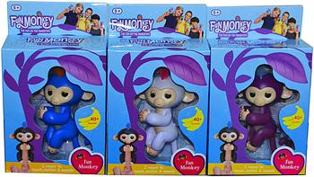 709 Интерактивная обезьянка Fingerlings 21*13
