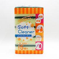 Кухонные губки для мытья посуды, поролон, 5 шт.