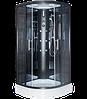 Душевая кабина ER5709P-C24 900*900*2150 низкий поддон, тонированое стекло