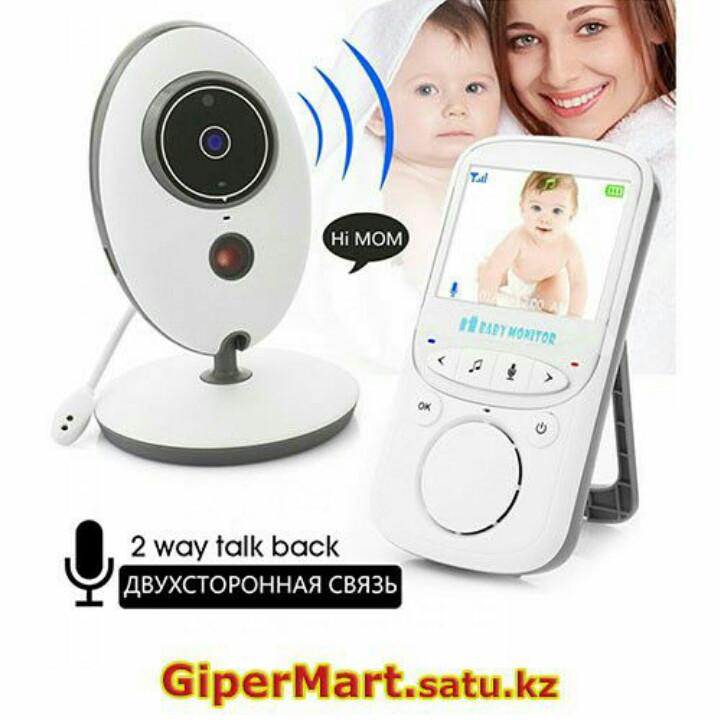 Беспроводная видеоняня Baby monitor VB605 с ночной подсветкой