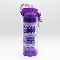 Набор резинок для волос, фиолетовые, 25 шт.