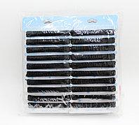 Набор резинок для волос, черные, 40 шт.
