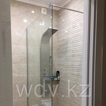 Стеклянная шторка на душ