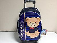 Школьный рюкзак на колесах с 1-го по 4-й класс. Высота 48 см,длина 29 см,ширина 17 см., фото 1