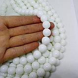 Агат белый,12 мм, фото 2
