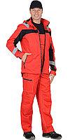 """Костюм """"Сидней"""" летний: куртка, п/к красный тк.Rodos (245 гр/кв.м), фото 1"""
