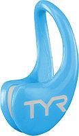 Зажим для носа TYR Ergo Swim Clip цвет 001 Черный термопластичная , Голубой