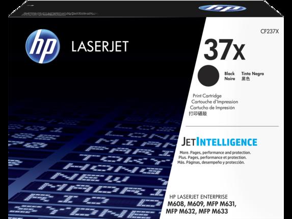 HP CF237X Оригинальный лазерный картридж HP 37X увеличенной емкости, Черный, 25000 страниц