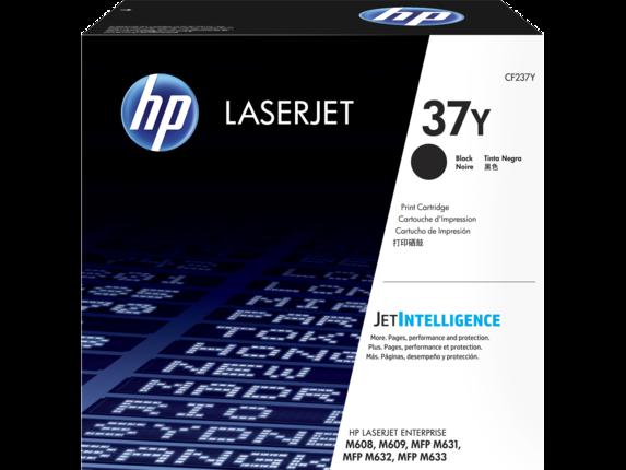 HP CF237Y HP 37Y Картридж увеличенной емкости для LaserJet M608/M609/M631/M632, до 41000 страниц