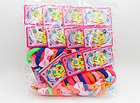 Набор резинок для волос, разноцветные, 55 шт.