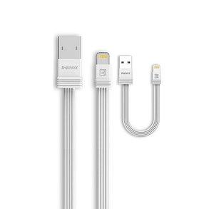 Кабель Remax RC-062i Lightning USB iPhone White, фото 2