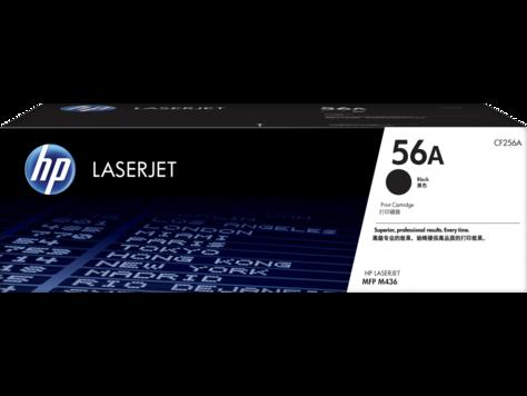 HP CF256A HP 56A Лазерный картридж для M436, черный, до 7400 страниц