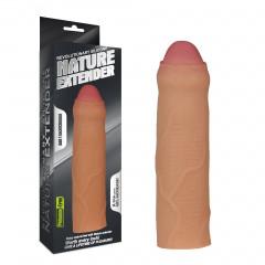 Насадка для увеличения пениса - 17,5 см. (Реалистичней не бывает)