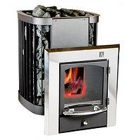 Дровяная печь для сауны и бани KASTOR Saga (рекомендуемый объем 8-27 м3.)