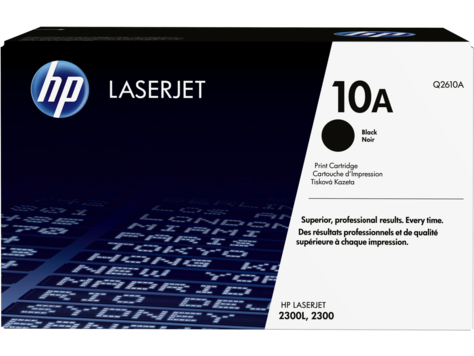 HP Q2610A Картридж лазерный, черный, На 6000 страниц (5% заполнение) для HP LaserJet 2350-series