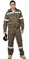 "Костюм ""ТИТАН"": куртка кор., п/комб. хаки с СОП тк. CROWN, фото 1"