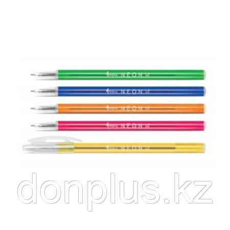 Ручка шариковая Forpus NEON, 1 мм, корпус ассорти, синий