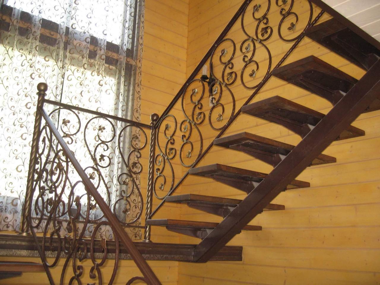 Лестница сварная
