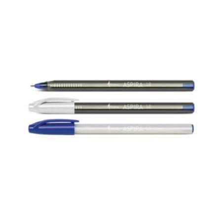 Ручка шариковая Forpus ASPIRA, 1 мм, перламутровый корпус, синий