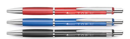 Ручка шар. автомат. Forpus Top, 0,7мм, красный