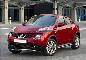 Защита переднего бампера d57 волна Nissan Juke, FWD 2010-2014