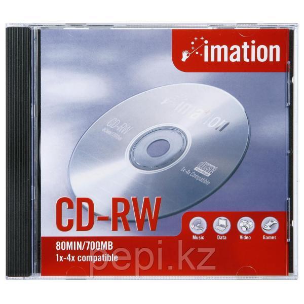 Диск CD-RV  Imation 700Mb/80мин slim case