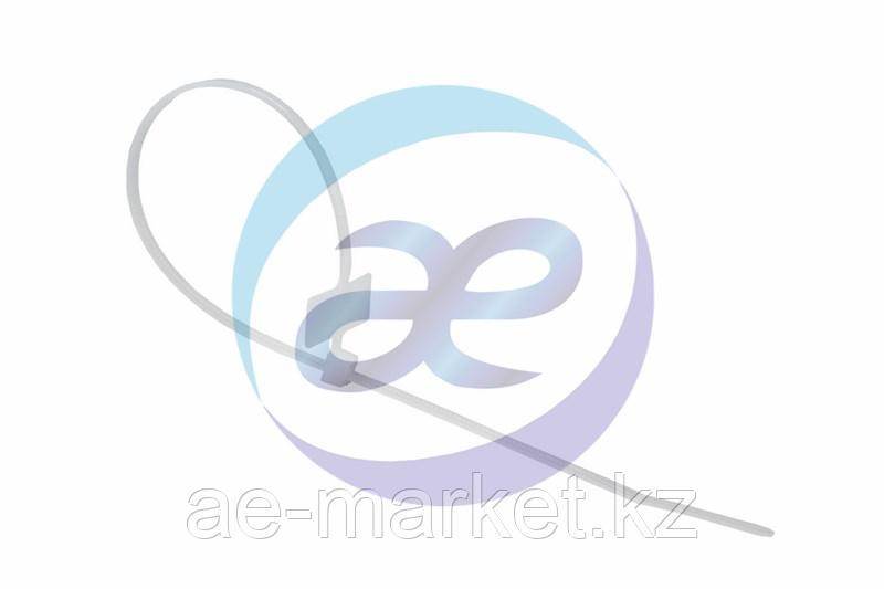Хомут под маркер nylon 100 x 2, 5 мм 100 шт белый REXANT