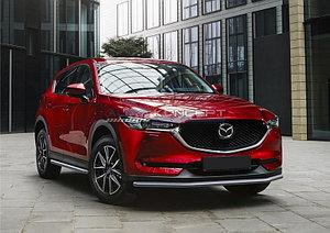 Защита переднего бампера d42 Mazda CX-5 2017-