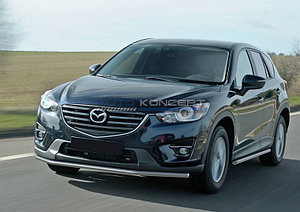 Защита переднего бампера d42 Mazda CX-5 2011-2017