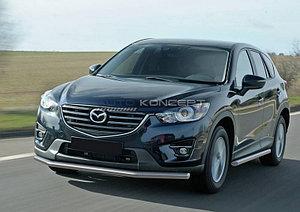 Защита переднего бампера d57 Mazda CX-5 2011-2017