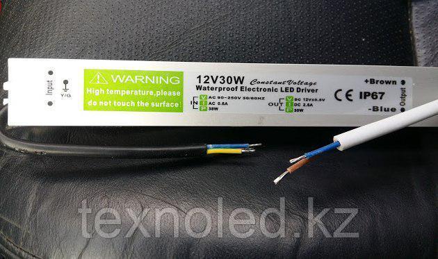 Блок питания 12V/ 3А /30W IP67, фото 2