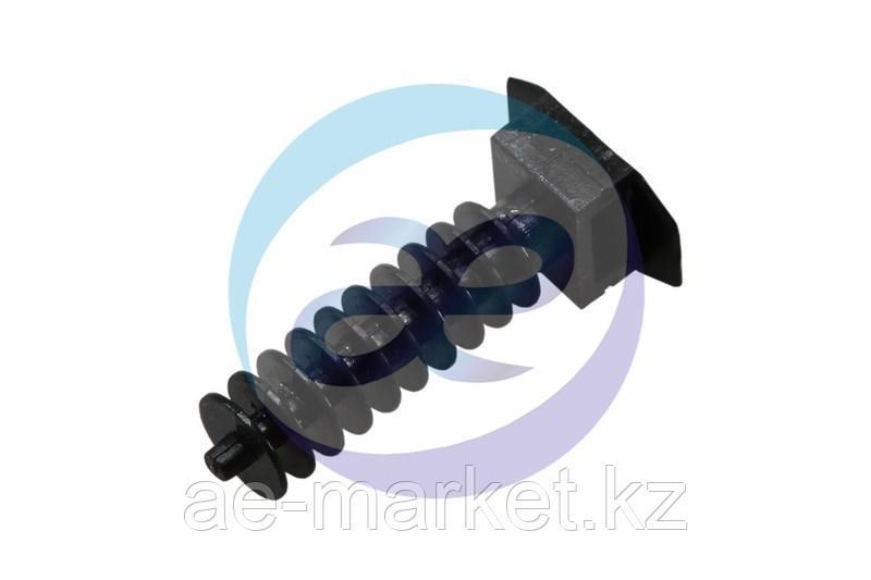 Дюбель d=10 х L40 мм для хомута-стяжки (100шт) черный REXANT