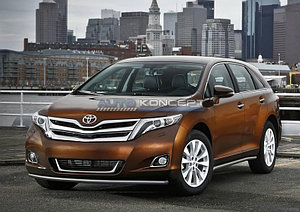 Защита переднего бампера d42 Toyota Venza 2012-2015