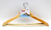 Деревянные плечики для одежды, 3 шт.