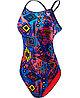 Купальник TYR Women's Santa Ana Cutoutfit Swimsuit цвет 004 Черный/Мульти размер 26, фото 3