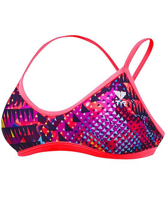Лиф TYR Machu Valleyfit Top цвет 185 Пурпурный/Мульти размер XS