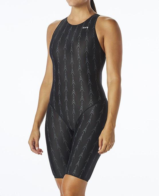 Cтартовый костюм TYR Fusion 2 Aerofit Short John цвет 001 Черный размер 22