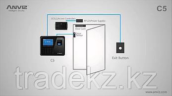Биометрический терминал контроля доступа и учета рабочего времени Anviz C5, фото 3