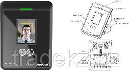 Прибор учета рабочего времени с распознаванием лица Anviz FacePass PRO, фото 3