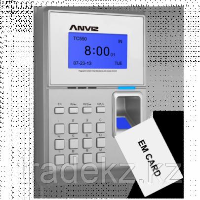 Биометрический терминал контроля доступа и учета рабочего времени Anviz TC550