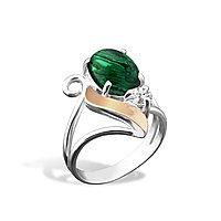 Серебряное кольцо с малахитом. Также работаем оптом. Условия и цены уточняйте.