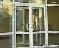 Регулировка алюминиевых одностворчатых и двухстворчатых дверей, входных групп.