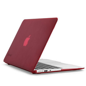 "Чехол, Speck, SPK-A2200, SeeThru, MacBook Air with Dual Mic 11"", Красный"