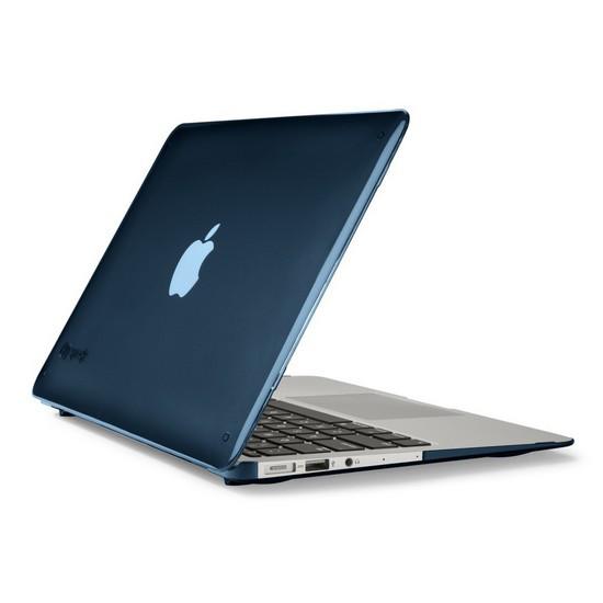 "Чехол, Speck, SPK-A2194, SeeThru, MacBook Air with Dual Mic 11"", Голубой"