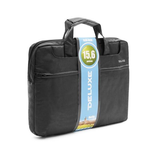 """Сумка для ноутбука, Deluxe, DLNB-603B-N15.6, 15.6"""", Лёгкая, 4 внешних отделения и кармана, 3 внутрен"""