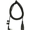 Шнур-переходник Jabra Cord 2m coiled w 2.5mm plug (8800-01-46)