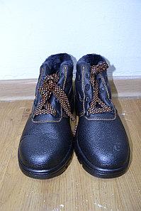 Ботинки рабочие из кожи «Профи-зима»