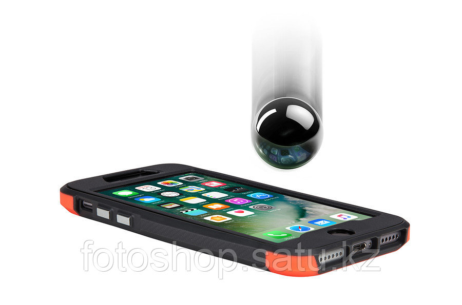 Чехол Thule TAIE-4127 Atmos X4 iPhone 7 Plus/iPhone 8 Plus coral/dark shadow - фото 3