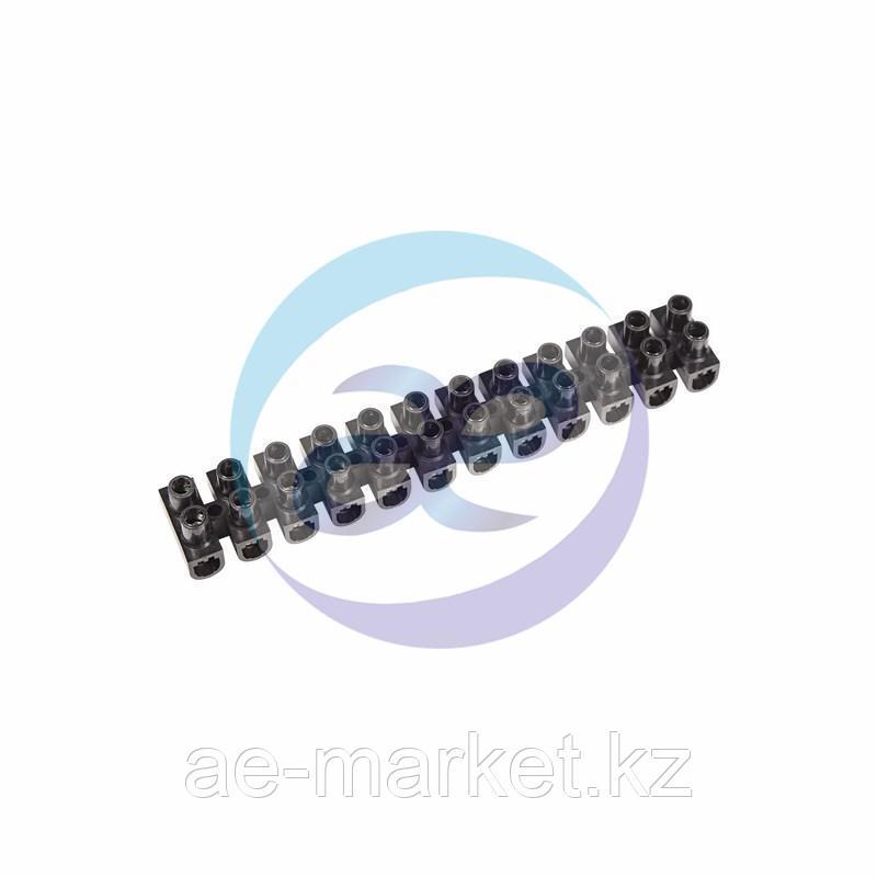 Колодка клеммная КВ-10 10А 10мм² PP (полипропилен) черный REXANT