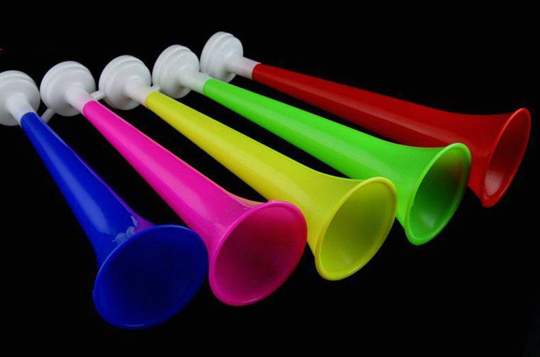 Горн болельщика 20-30 см цвета в ассортименте